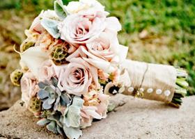 夏季婚礼用花