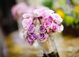 冬季婚礼新娘用花