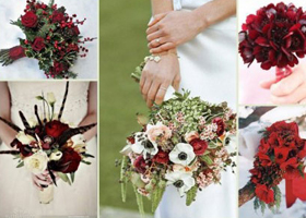 冬季婚礼用什么花